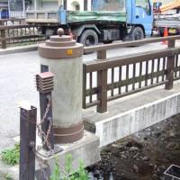 銀山温泉石畳・橋2