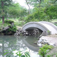 最上公園石橋